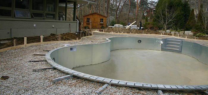 sweeneys pool service - installation, inground pools, build