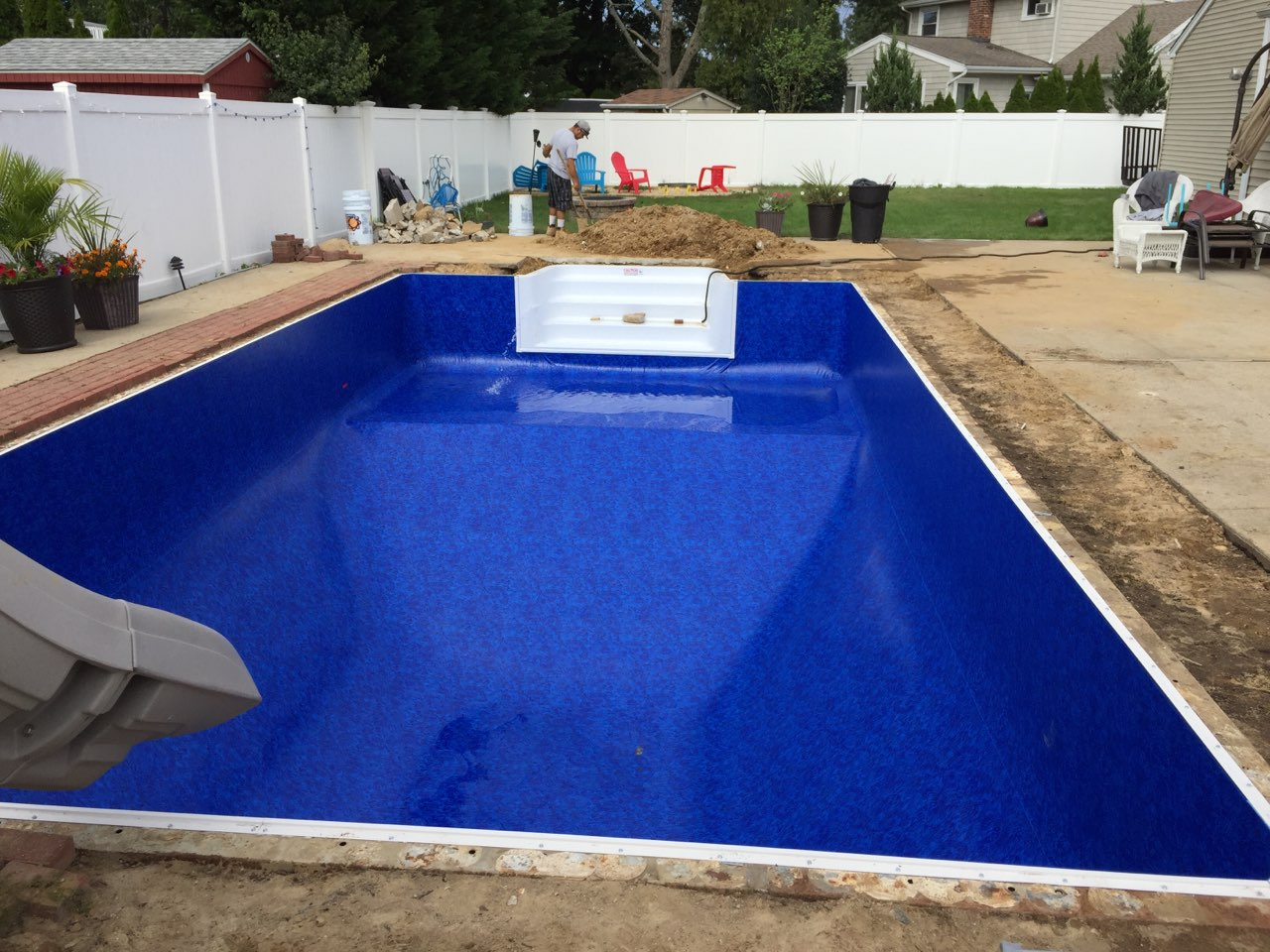 Sweeney's Pool Service   Pool Liner Installations   Suffolk County, Long Island, NY